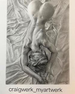 figure drawing. 🎨✍️😁Really enjoyed