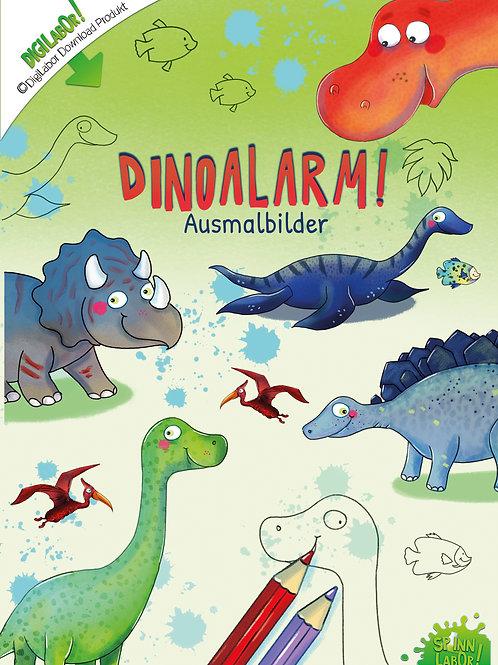 Dinoalarm Ausmalbilder