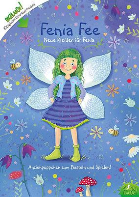Fenia Fee Anziehpüppchen PDF zum Downloaden, Basteln und Spielen!