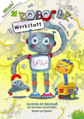 Roboter Werkstatt - Geschichte mit Bastelspaß