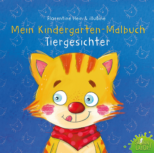 Kindergarten Malvorlagen Tiergesichter