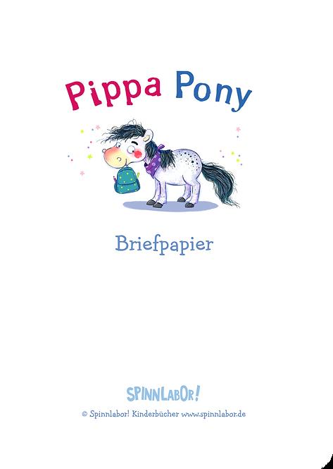 Briefpapier Pippa Pony