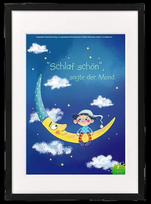 """Kunstdruck """"Schlaf schön"""""""
