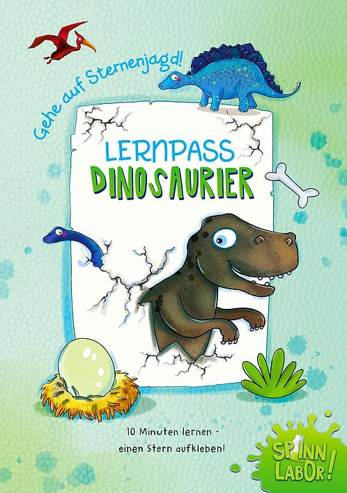 Dinosaurier Lernpass