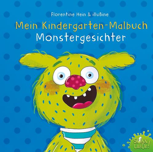 Kindergarten Malvorlagen Monstergesichter