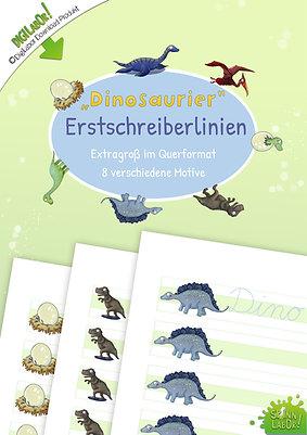 Dinosaurier Erstschreiberlinien