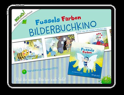 Bilderbuchkino Fussels Farben
