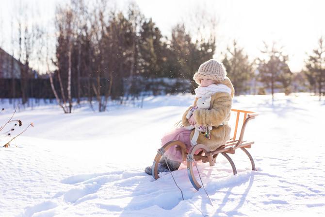 Мороз и солнце. День был чудесный!