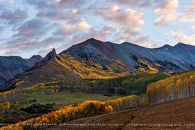 Fall Colors, sunrise