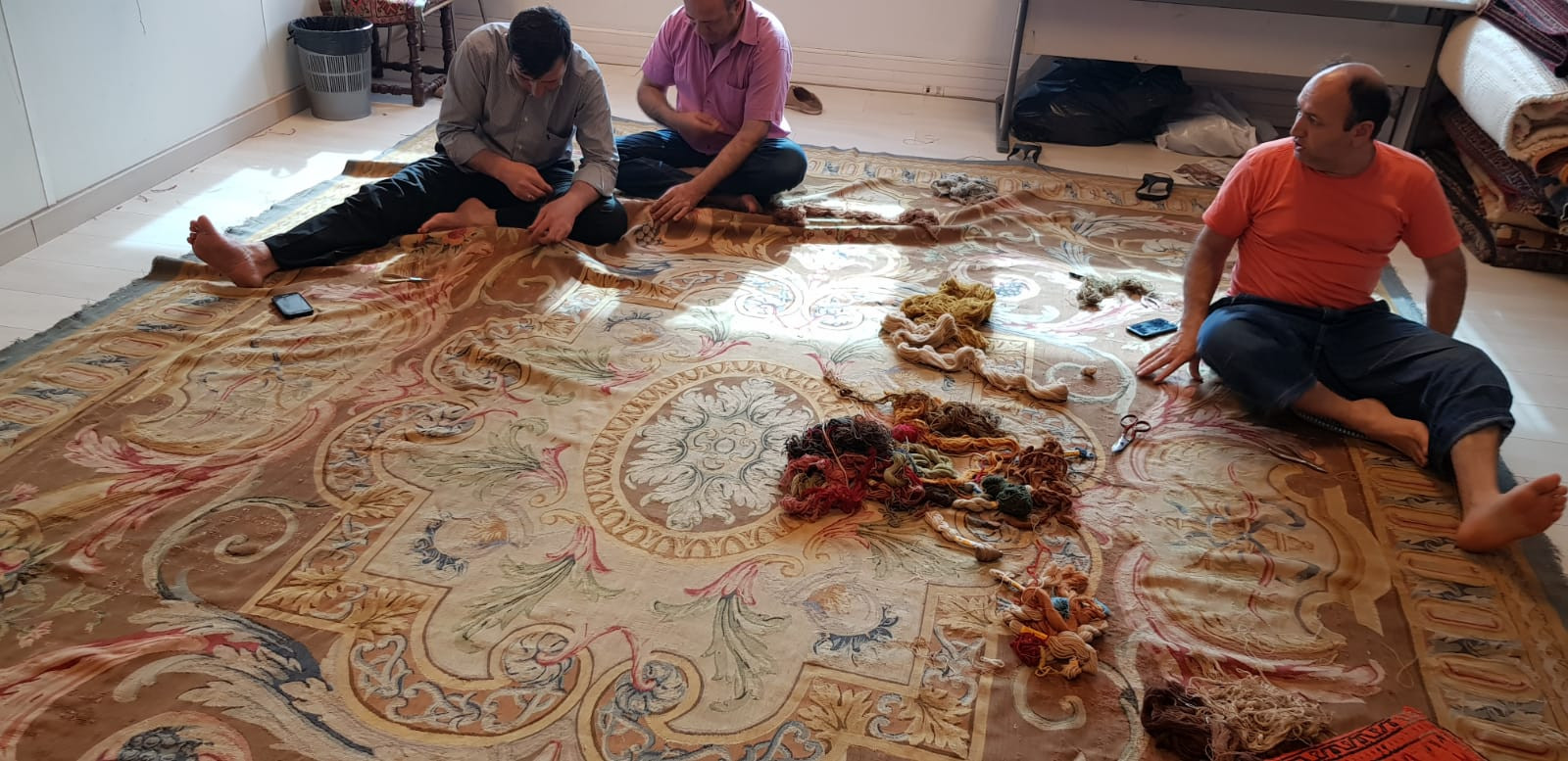 Atelier des Arts - Restauration de tapis