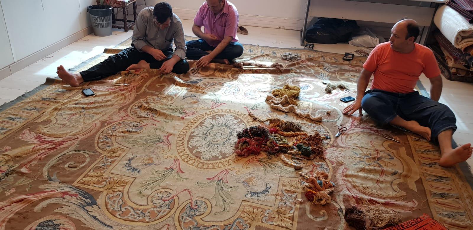 Atelier des Arts - Restauration de tapis