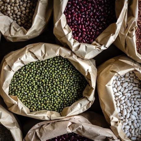 Linsen, Kichererbsen und Bohnen - Ballaststoffe für weniger Ballast