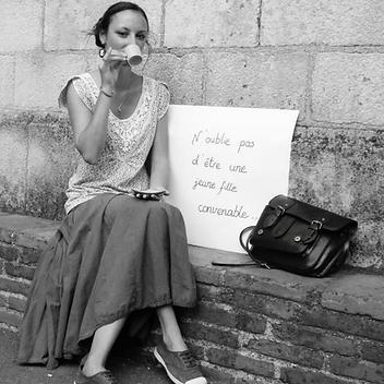 Eva Giraud auteure rouen belgique nomandie pckwik et si on se protituait