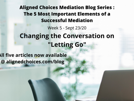 """Changing the Conversation on """"Letting Go"""""""