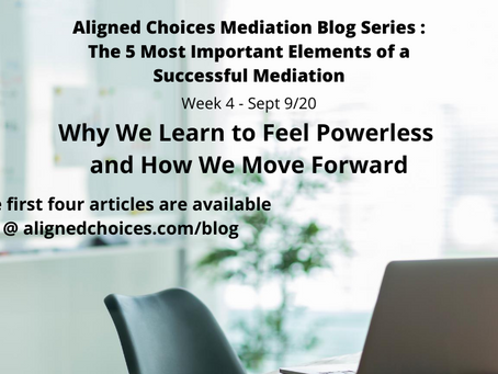 Why We Learn to Feel Powerless and How We Move Forward