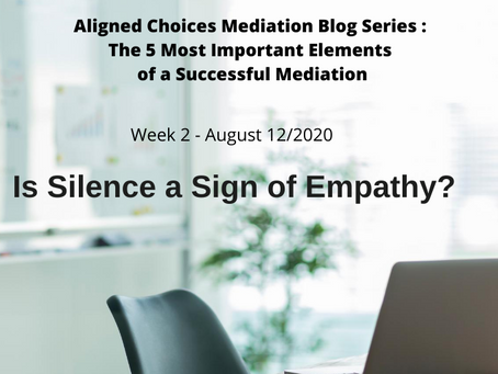 Is Silence a Sign of Empathy?