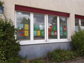 Kunstprojekt in der Notbetreuung