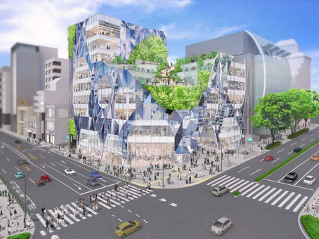 New Large Scale Structure Planned For Jingumae Crossing in Harajuku