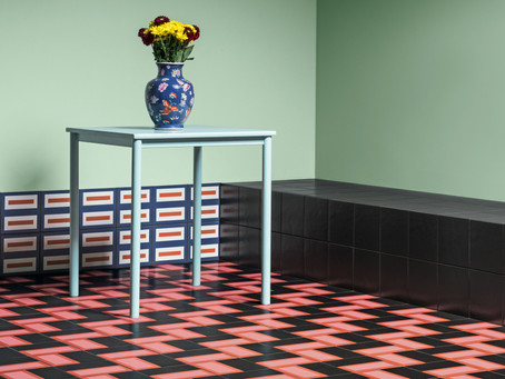 Mattonelle Margherita Tile Collection by Nathalie Du Pasquier For Mutina
