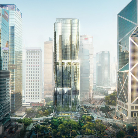 Zaha Hadid Architects reveals design for skyscraper on world's most expensive site