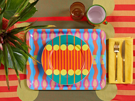 Yinka Ilori's first homeware collection turns functional items into artworks