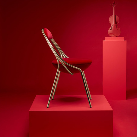 Lee Broom's virtual launch of Maestro chair features movie with 30 classical musicians