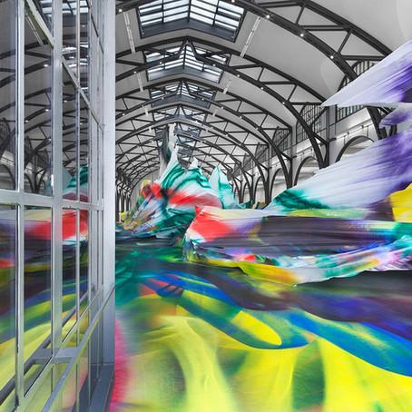 Katharina Grosse Kaleidoscope Installation