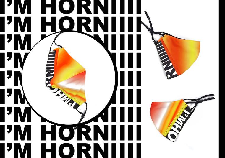 BCoS I'M Horniii Fashion Mask