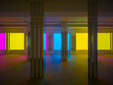 Philippe Parreno and Daniel Buren cast spectral shadows in Paris