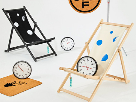 Virgil Abloh designs doormats, umbrellas and slippers for Off-White HOME collection