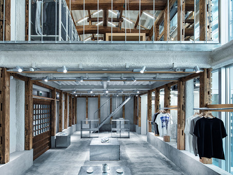 New Balance's Latest Tokyo Shop is Built in a Kura, Dismantled and Relocated from Kawagoe