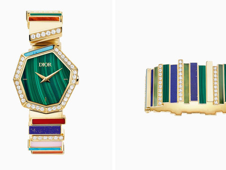Dior's new watch and jewellery collection: bold colour and fluid design