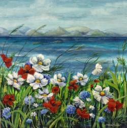sea view by Stella Mance