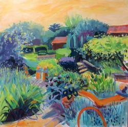 late Summer Garden by Diana
