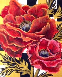 Golden Poppies by Stella Mance