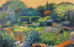The Walled Garden - 92 x 61 cms