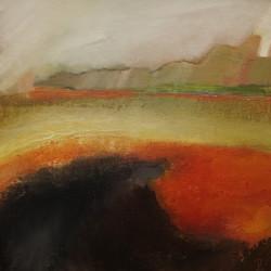 Winter Heat by Barbara Liddle Oil on Board DSC07128