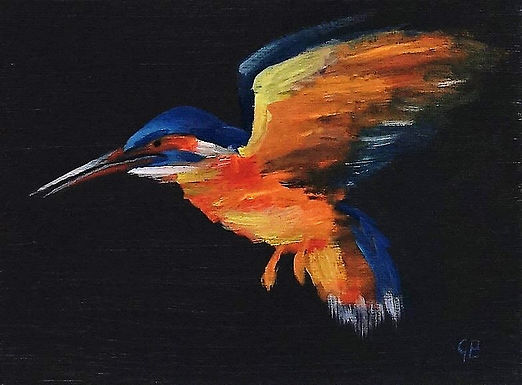 Blue Hummingbird SOLD