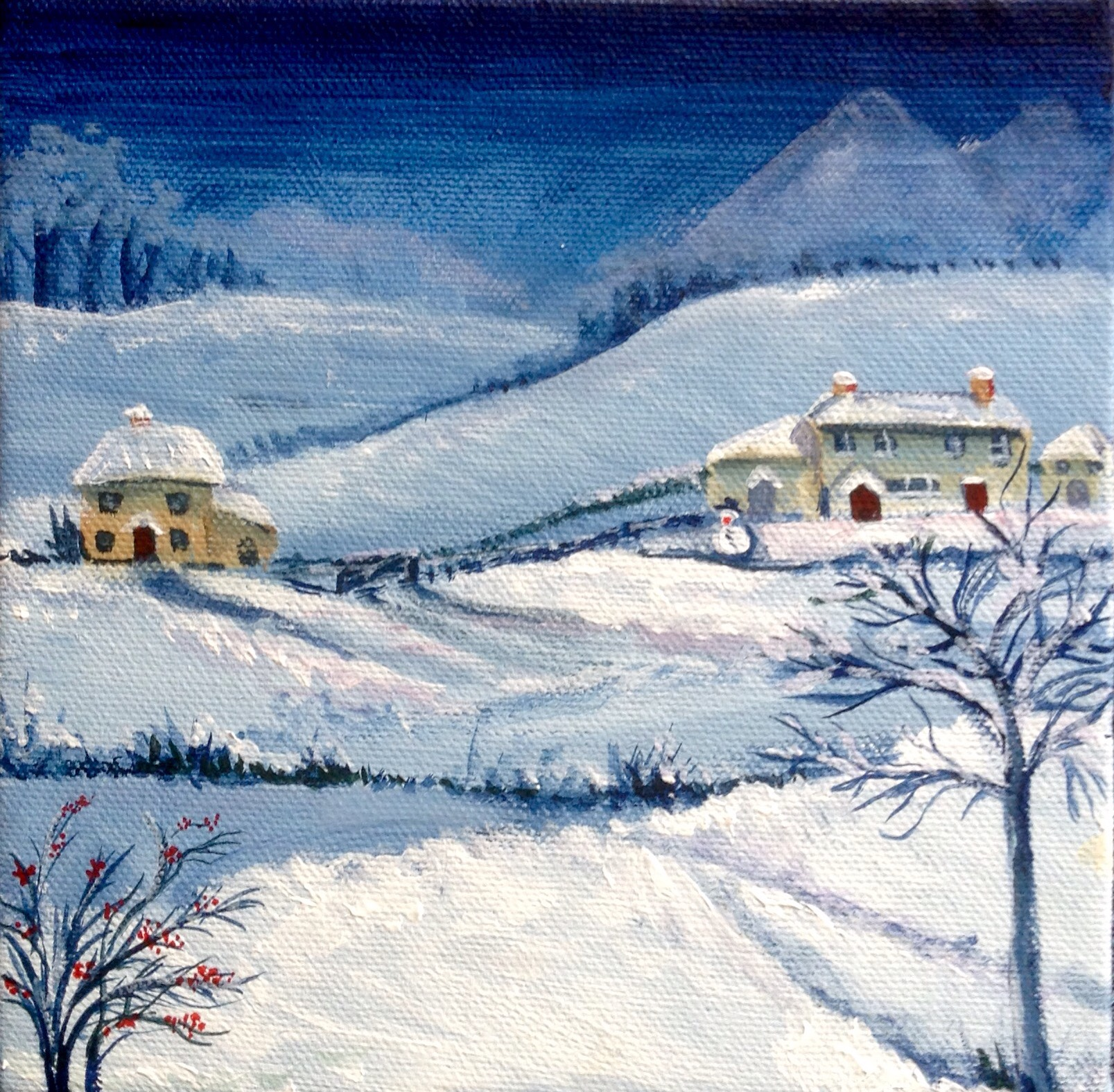Stella Mance Winter scene