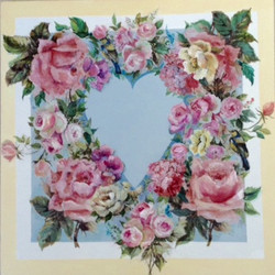 Shabby chic heart by SM