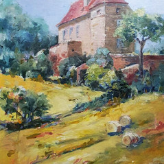 Small Chateaux by Liz Holloway