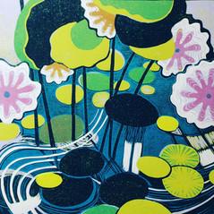 Lilly pond by Diana Croft 40x30in.jpg
