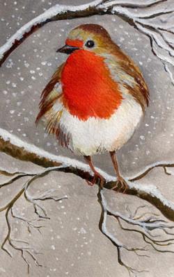 First Snowfall by Stella Mance
