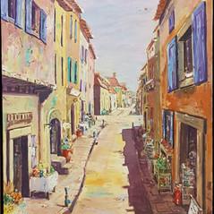 Rue de La France by Liz Holloway