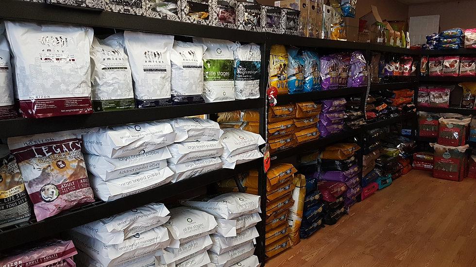 Pet Food Racks