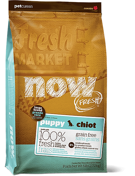 Grain Free Large Breed Puppy Food Recipe
