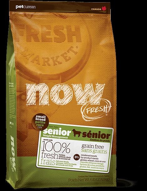 Grain Free Small Breed Senior Recipe