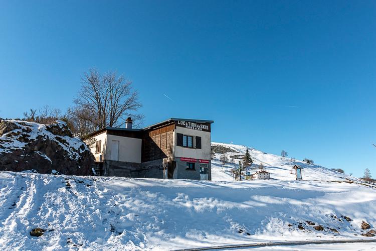 barraquement de location de skis