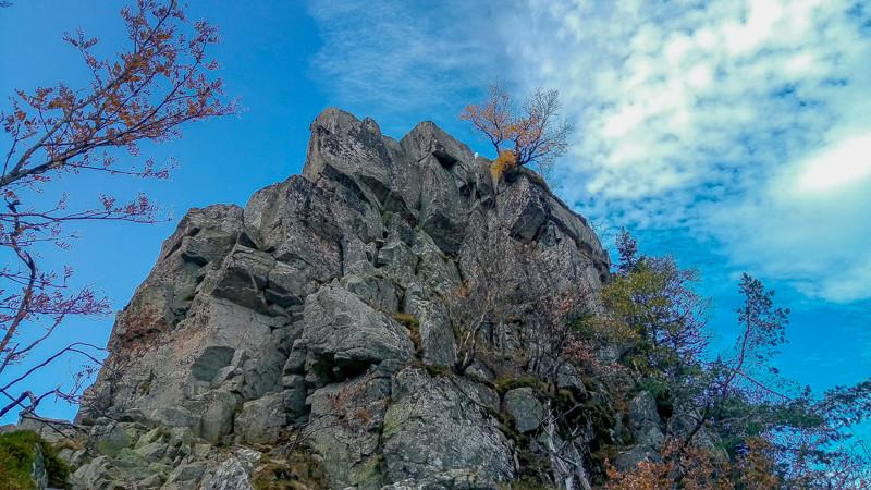 rocher d'escalade