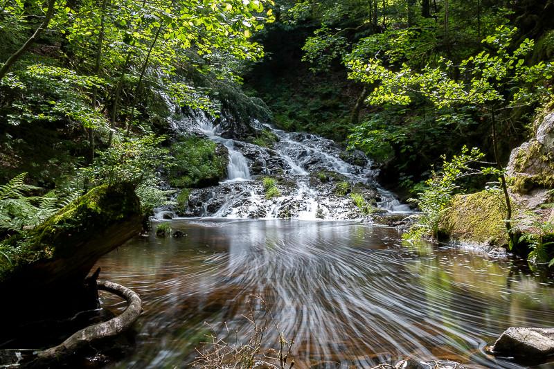 Lac de Retournemer, cascade Charlemagne